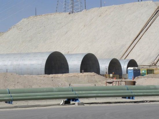 MULTI-PLATE STRUCTURES FOR CHUQUICAMATA TUNNELS